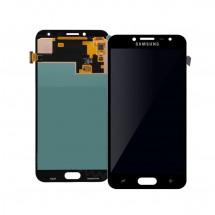 Pantalla completa Compatible LCD y táctil color negro para Samsung Galaxy J4 2018 (J400)