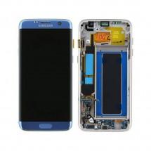 Pantalla ORIGINAL Service Pack completa color azul para Samsung Galaxy S7 Edge G935F