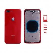 Chasis y tapa trasera con botones y bandeja sim para iPhone 8G Plus - elige color