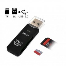 Lector tarjetas USB 3.0 MicoSD - SD Card - Ref. Nw-DKQ12