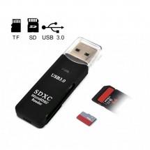 Lector tarjetas USB 3.0 MicoSD - SD Card - Ref. Nw-DKQ12