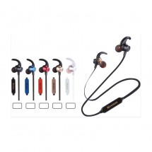 Auriculares deportivos Bluetooth T120BT  lector tarjeta MicroSD ref. Nw-CT765 - elige color