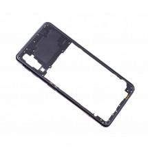 Chasis intermedio trasero color negro para Samsung Galaxy A7 2018 (A750F)