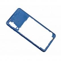 Chasis intermedio trasero color azul para Samsung Galaxy A7 2018 (A750F)