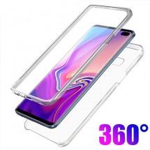 Funda Doble TPU Silicona Transparente 360 para Samsung Galaxy S10+ / S10 Plus