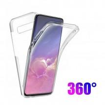 Funda Doble TPU Silicona Transparente 360 para Samsung Galaxy S10 Lite
