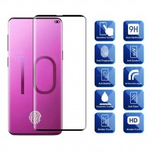 Protector Cristal Templado Curvo 3D para Samsung Galaxy S10+ / S10 Plus