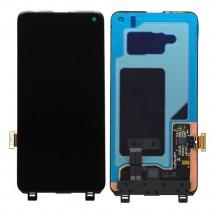 Pantalla completa LCD y táctil color negro para Samsung Galaxy S10 G973F