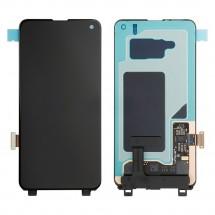 Pantalla completa LCD y táctil color negro para Samsung Galaxy S10 Lite G970F