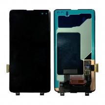 Pantalla completa LCD y táctil color negro para Samsung Galaxy S10+ / S10 Plus G975F
