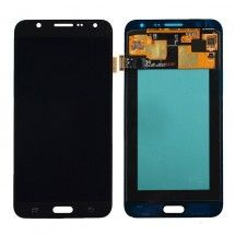 Pantalla completa compatible color negra para Samsung Galaxy J7 J700