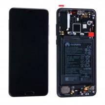 Pantalla ORIGINAL con marco y batería para Huawei P20 Pro - elegir color