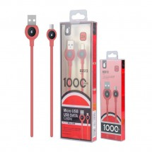 Cable datos MicroUSB - 1m - 2A - Ref. OP-B2512 - elige color