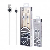Cable datos Lightning para iPhone 2A (1m) Ref. OP-B2508 - elige color