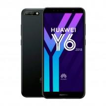 """Huawei Y6 2018 2Gb / 16Gb - 5.70"""" Dual SIM - color Negro - NUEVO - 2 años de garantía"""