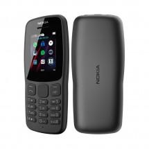 Nokia 106 (2018) TA-1114 DS Dual SIM - teclas grandes - color Negro - NUEVO - (2 años de garantía)