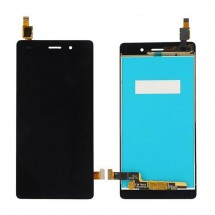 Pantalla Completa LCD y tactil Huawei Ascend P8 Lite negro