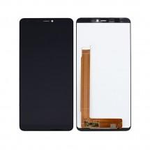 Pantalla completa LCD y  táctil color negro para Wiko View Max