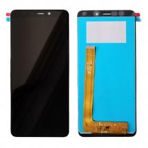 Pantalla completa LCD y  táctil color negro para Wiko View Go