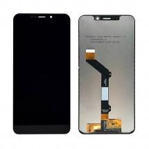 Pantalla LCD y táctil color negro para Motorola One / P30 Play