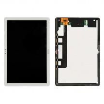 Pantalla completa LCD y táctil blanco para Huawei MediaPad M5 Lite BAH2-AL09 BAH2-W09