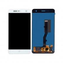 Pantalla LCD y táctil color blanco para ZTE Blade V8 Mini