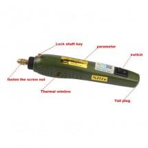 Mini Amoladora - Pulidora eléctrica 12V 40W Slite Tools P-500-11A