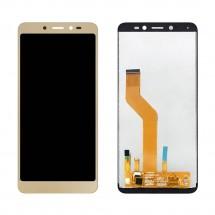 Pantalla completa LCD y táctil color dorado para Wiko Sunny 3 Plus