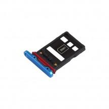 Bandeja porta tarjeta Sim color Azul para Huawei P30 Pro