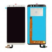 """Pantalla LCD y táctil color blanco para Wiko View 5.7"""""""