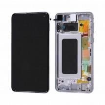 Pantalla completa Original LCD y táctil con MARCO Samsung Galaxy S10e G970F - elige color