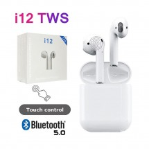Auriculares i12 TWS Tipo Airpods Bluetooth 5.0 - táctil - iPhone iOS Android Windows