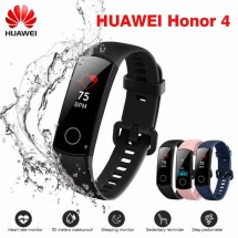 Huawei Honor Band 4 pulsera deportiva pantalla Amoled táctil color negro