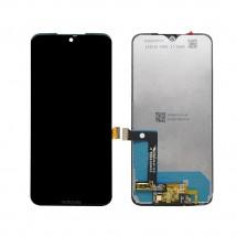 Pantalla completa LCD y táctil negro para Motorola Moto G7 XT1962