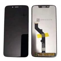 Pantalla completa LCD y táctil negro para Motorola Moto G7 Play XT1952