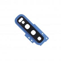 Marco embellecedor cámara trasera color Azul para Samsung Galaxy S10 G973F / S10 Plus G975F