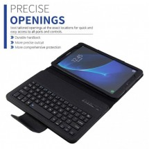 """Funda con teclado Bluetooth para tablet Samsung 10"""" T580 / T585 / Tab A"""