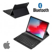 Funda con teclado Bluetooth para Apple iPad 2018 / 2017 / Air / Air 2 / iPad 9.7""