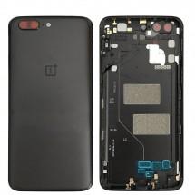 Carcasa tapa trasera color negro para OnePlus 5