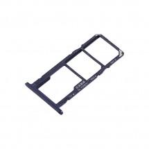 Bandeja porta Sim y MicroSD color azul para Huawei Y5 2018 / Y5 Prime 2018