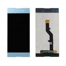 Pantalla completa LCD y táctil color azul para Sony Xperia XA1 Plus