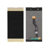 Pantalla completa LCD y táctil color dorado para Sony Xperia XA1 Plus