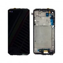 Pantalla completa LCD y táctil con Marco para LG Q8 2018