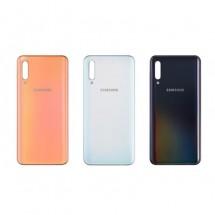 Tapa trasera batería para Samsung Galaxy A50 A505F - elige color