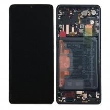 Pantalla completa Original LCD y táctil con marco para Huawei P30 Pro Negro