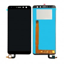 "Pantalla completa LCD y táctil color negro para Wiko View Prime 5.7"""