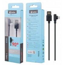 Cable Datos en angulo 90º Tipe-C - 2A - Ref. OP-B3584 - elige color