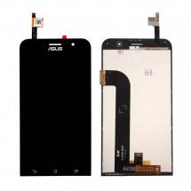 Pantalla completa LCD y táctil color negro para Asus Zenfone Go ZB500KG