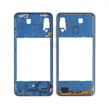 Carcasa intermedia trasera color azul para Samsung Galaxy A30 A305F