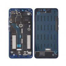 Marco frontal display color azul para Xiaomi Mi 8 Lite / Mi8 Lite